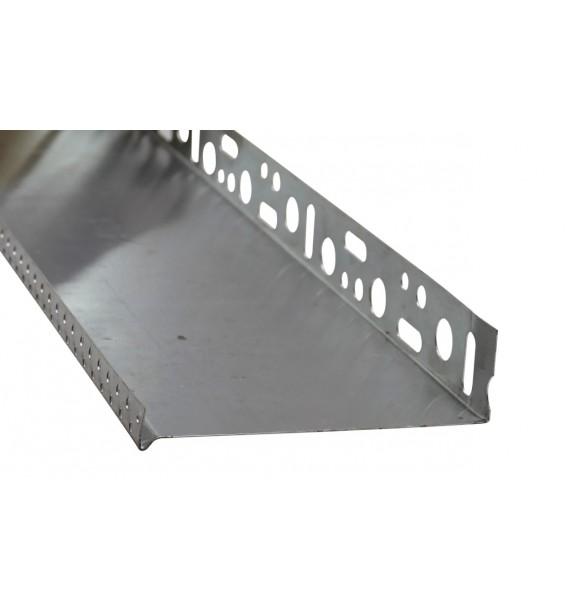 Soklové profily ALU 0,6 mm; 0,8 mm; 1,0 mm