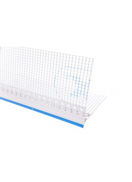VLT drip edge PVC with mesh - not fully plasterable, with tape on nose