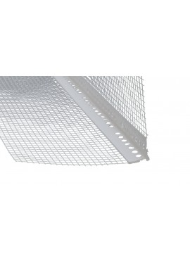 PVC corner with 3mm nose, melted mesh
